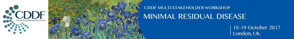 CDDF workshop MRD 2017